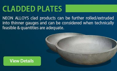 Cladded Plates Supplier